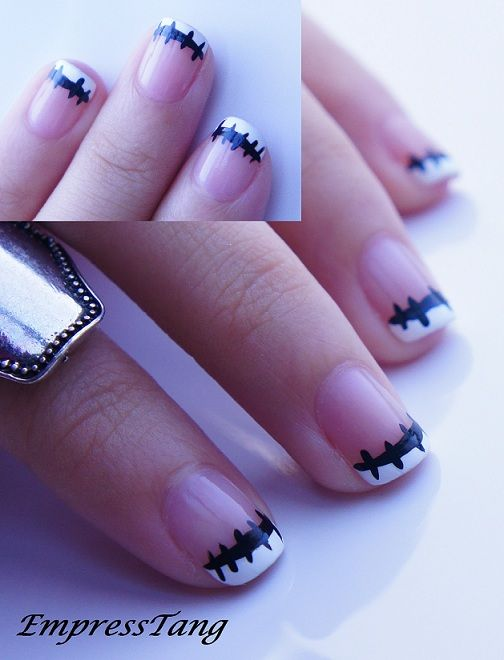 Jack Skellington Nails by EmpressTang.deviantart.com on @deviantART ...