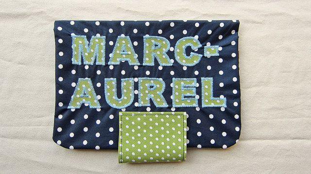 Windeltasche / diaper bag MARC-AUREL