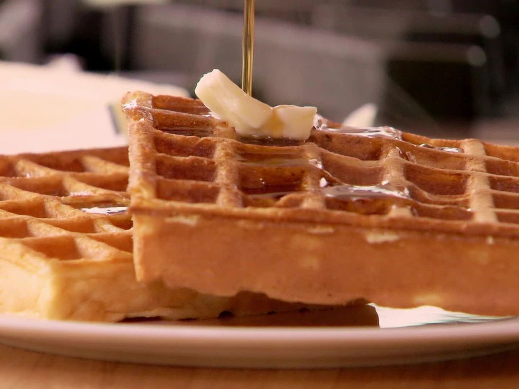 Amazing waffles from scratch