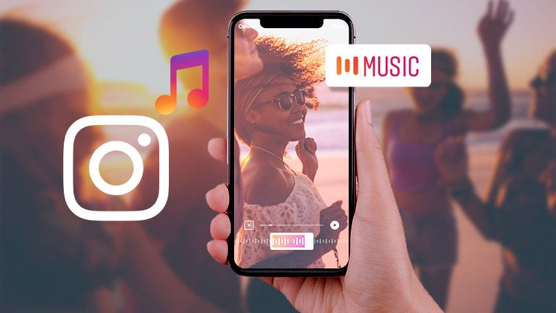 How to add music to an instagram story instagram music