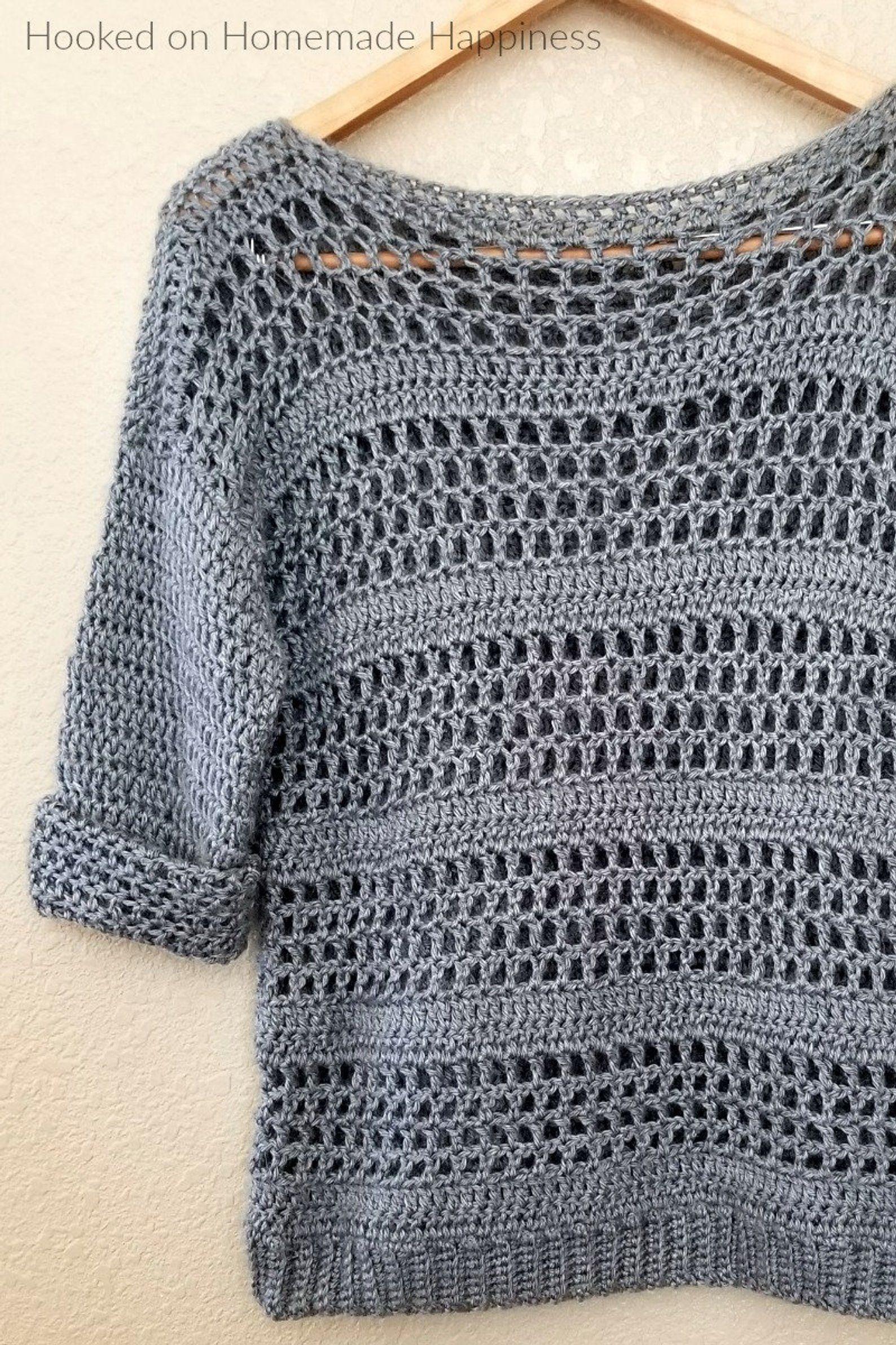 Simple Sweater Crochet PATTERN