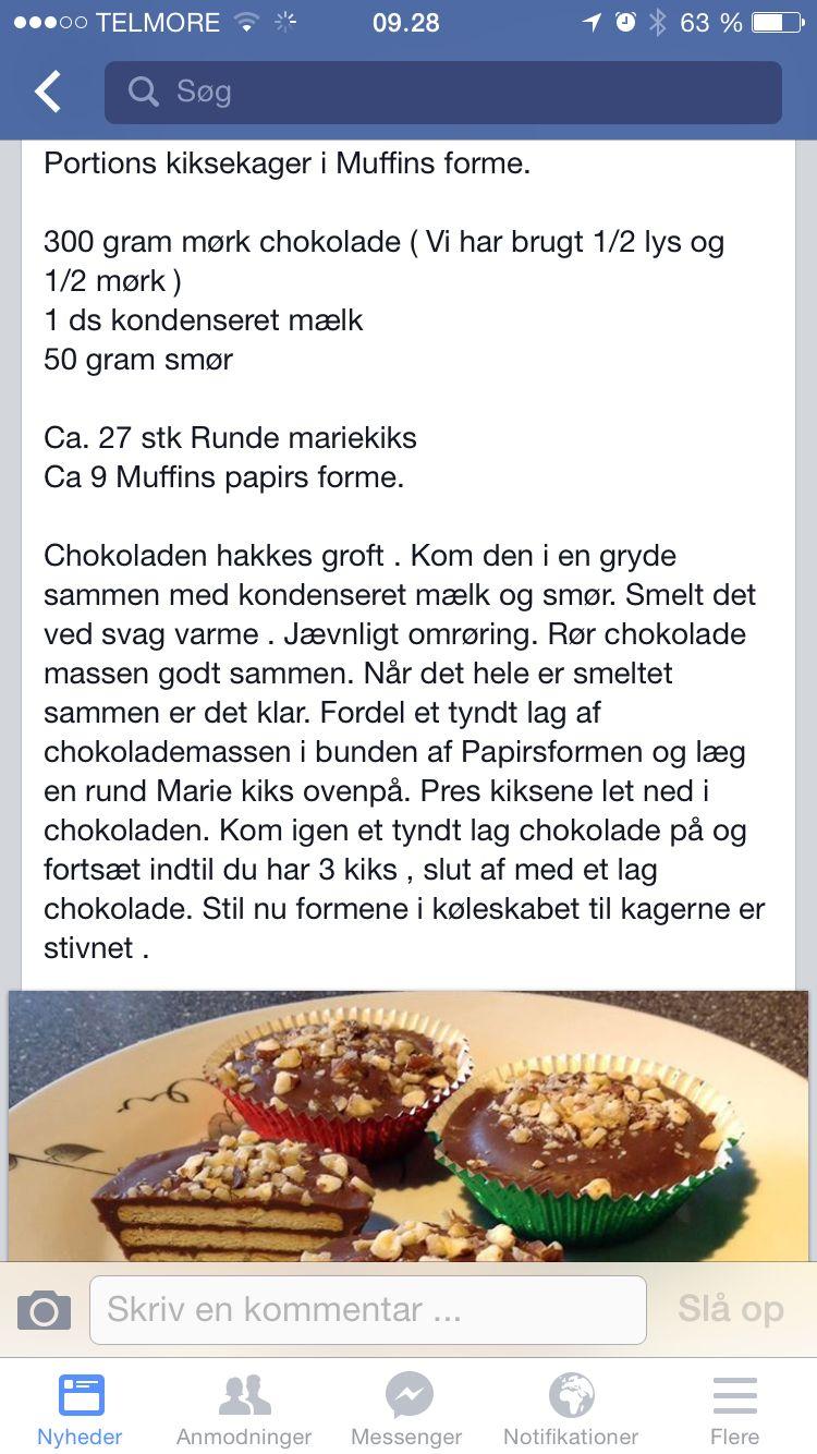 Kiksekage i muffinsforme