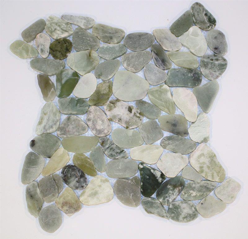 Wave Sea Glass Mosaic Tile Bathrooms Sea Glass Mosaic
