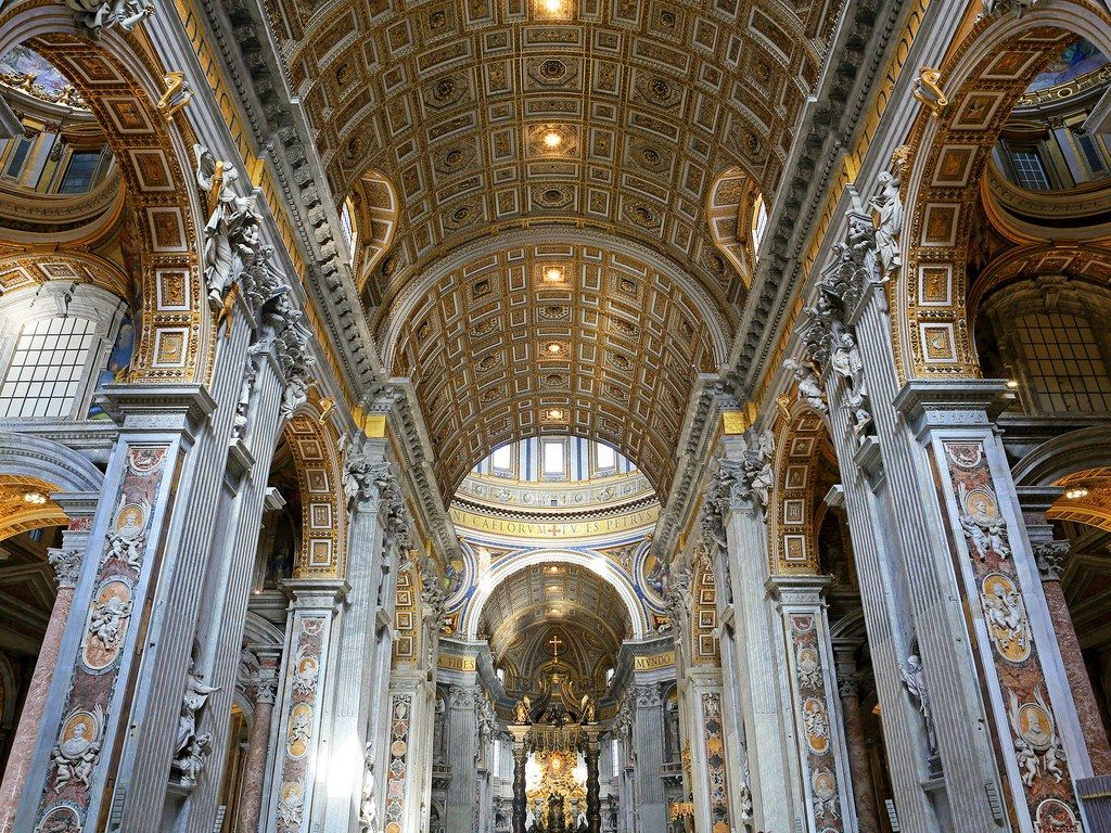 The 10 Most Beautiful Churches In Italy Renaissance Architecture Church St Peters Basilica