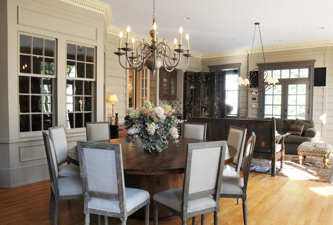 A Renovation Of A Large Sunroom To Use For Entertaining All Ages An Informal Dining Area Is