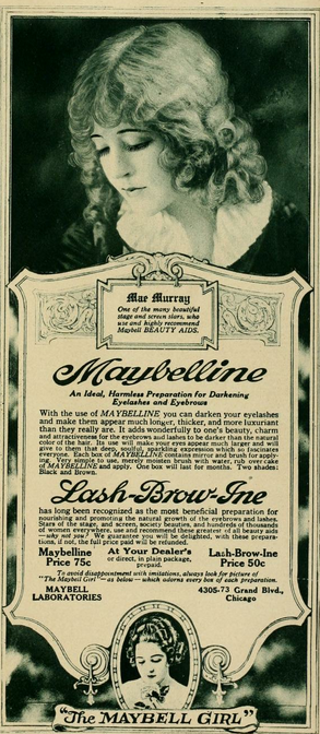 Mae Murray for Maybelline