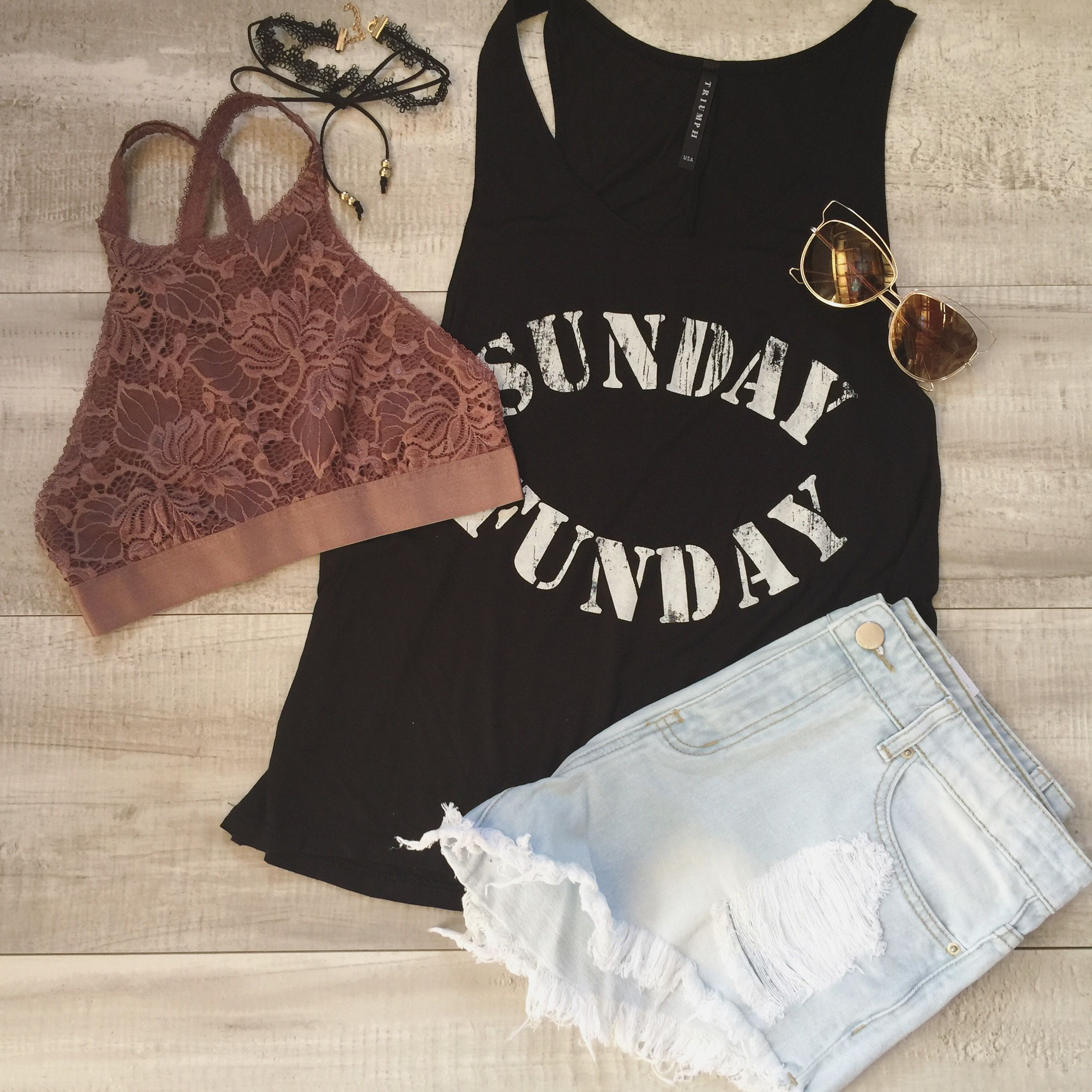 Cute #sundayfunday top with high neck Bralette
