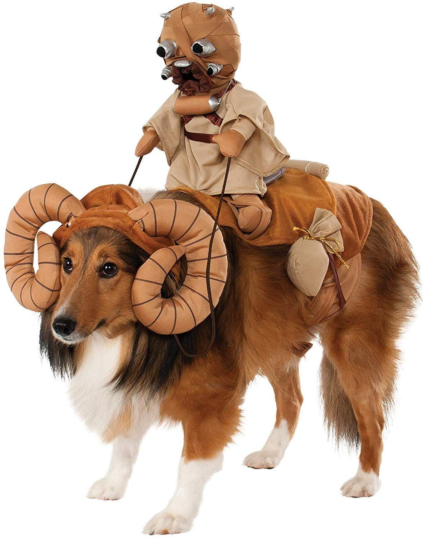 Star Wars Bantha Kostum Fur Haustiere In 2020 Hund Halloween Lustige Hundekostume Kostum Hund