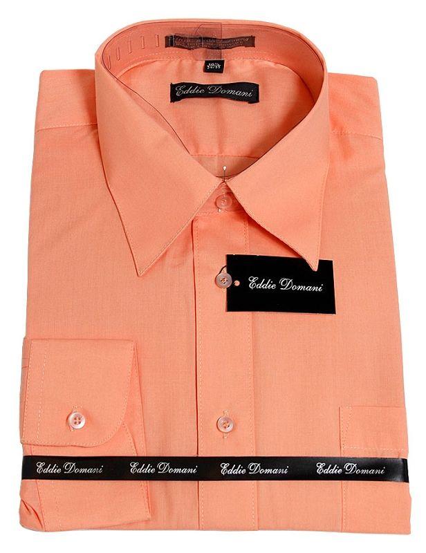 mens peach dress shirts | ... peach mens button down dress shirt ...