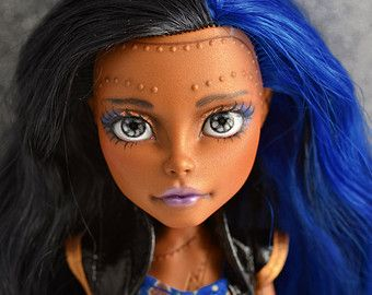 repainted monster high dolls - Google Search