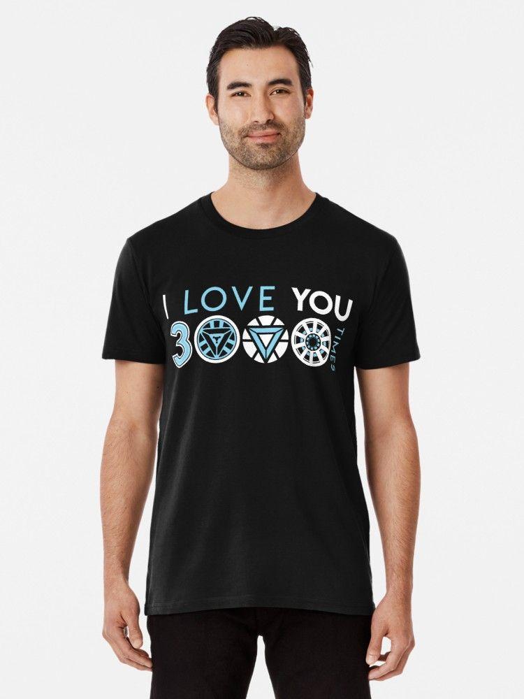 ba8afb084 I love you 3000 three thousand times | Slim Fit T-Shirt | i love you ...