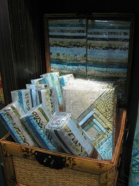 Green Tea Tonga Treats at Quilt Market in Houston