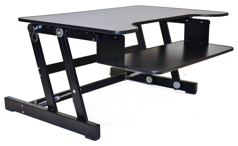 Beautiful Amazon.com : Rocelco Height Adjustable Standing Desk Riser   ADR 32 Design