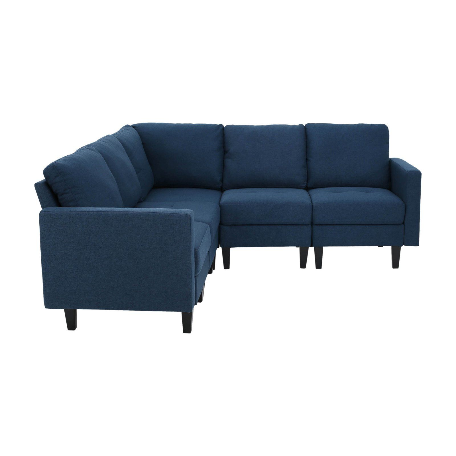 Zahra Tufted Sectional Sofa With Images Tufted Sectional Sofa Sectional Sofa Tufted Sectional