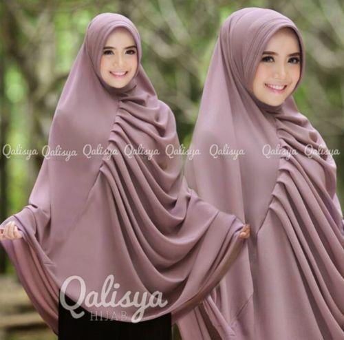 Qalysia Rafa Instant Hijab Khimar Amira One Piece Slip On Hijab