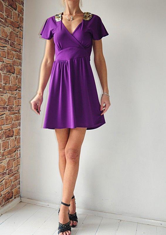 c71876d0e0 Dorothy Perkins fioletowa sukienka r. 38 - Vinted