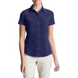 Photo of Downhill blouse – short-sleeved Eddie BauerEddie Bauer