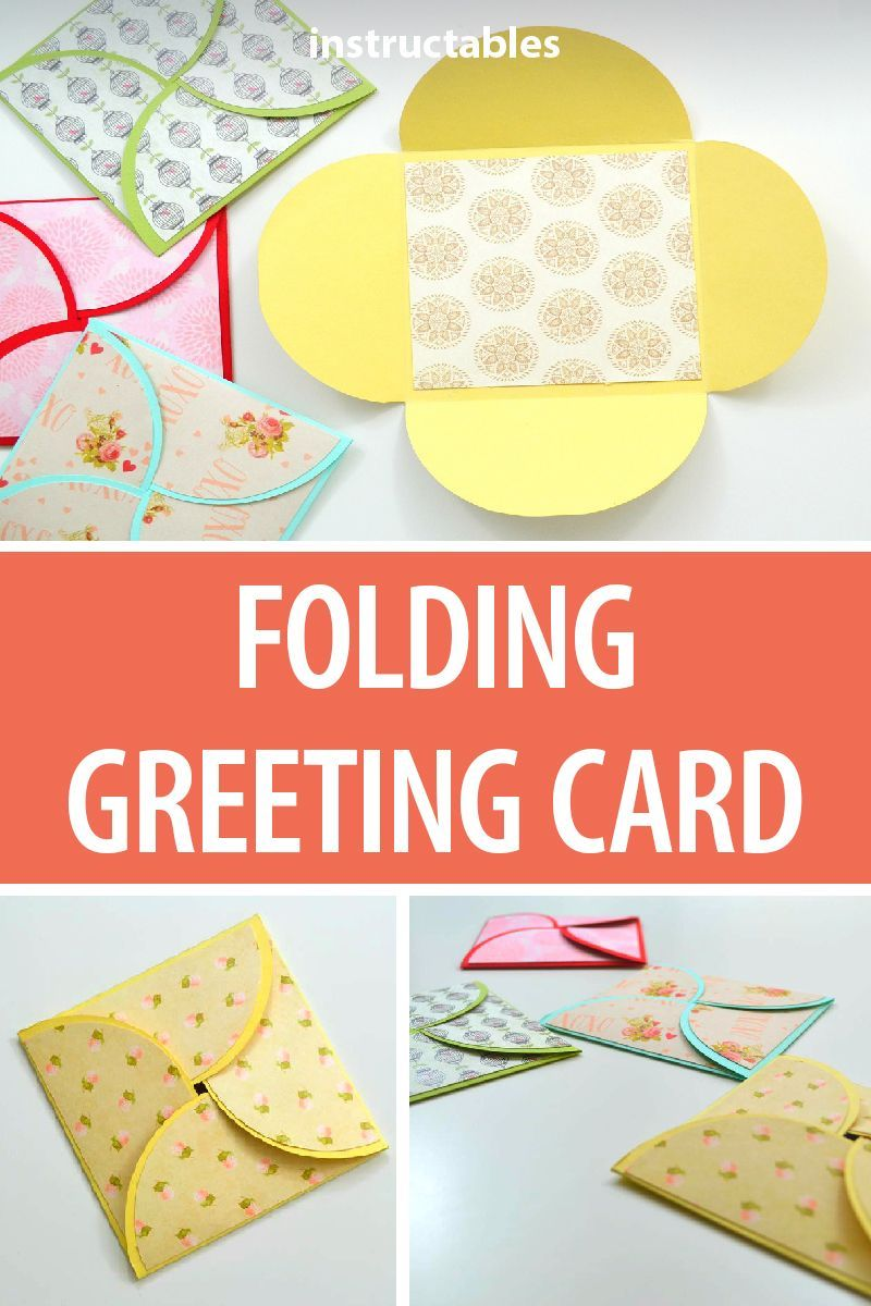 How To Make A Greeting Paper Card Greeting Cards Diy Diy Gift