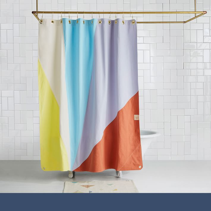 Quiet Town Pacifica Shower Curtain Prism In 2020 Shower Curtain Shower Design Curtains