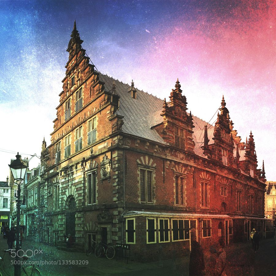 Haarlem old town