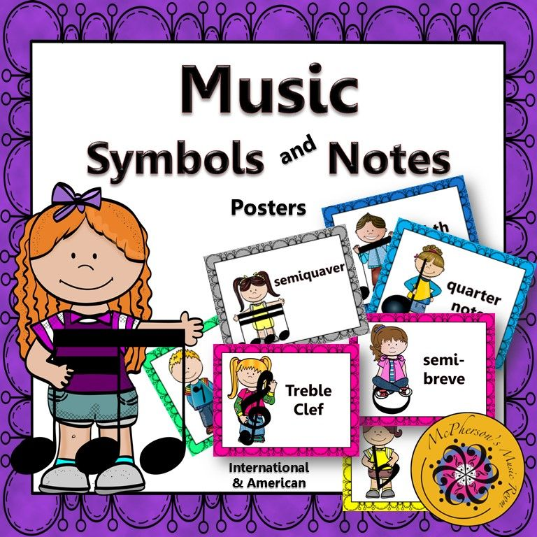 Music Symbols And Notes Music Room Dcor American International