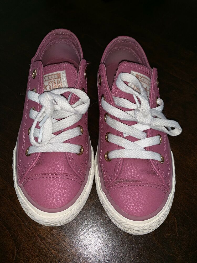 c763b36794c7 Lightly Used Purple Tan Girls Converse Size 12  fashion  clothing  shoes   accessories  kidsclothingshoesaccs  girlsshoes (ebay link)
