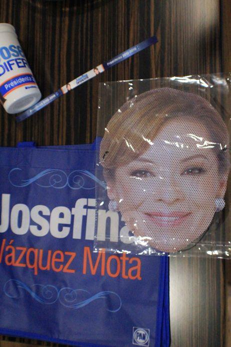 Propaganda de @JosefinaVM candidata a la Presidencia de la República por el PAN