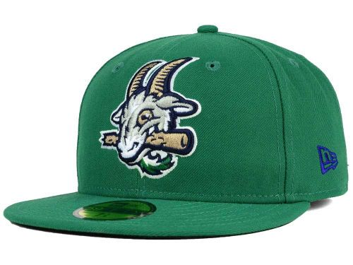 6e582d979cb2 Hartford Yard Goats New Era MiLB AC 59FIFTY Cap Hats