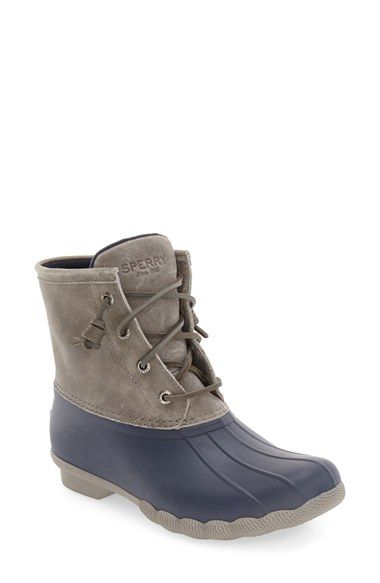 Free shipping and returns on Sperry  Saltwater  Duck Boot (Women) at  Nordstrom.com. Make waves with confidence in these weather resistant boots  that ... 6a6259ef0cbb
