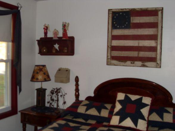 Americana Dream Americana Bedroom Patriotic Bedroom Home
