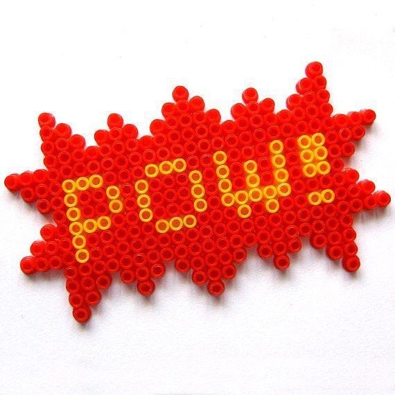 perler pow - Google Search
