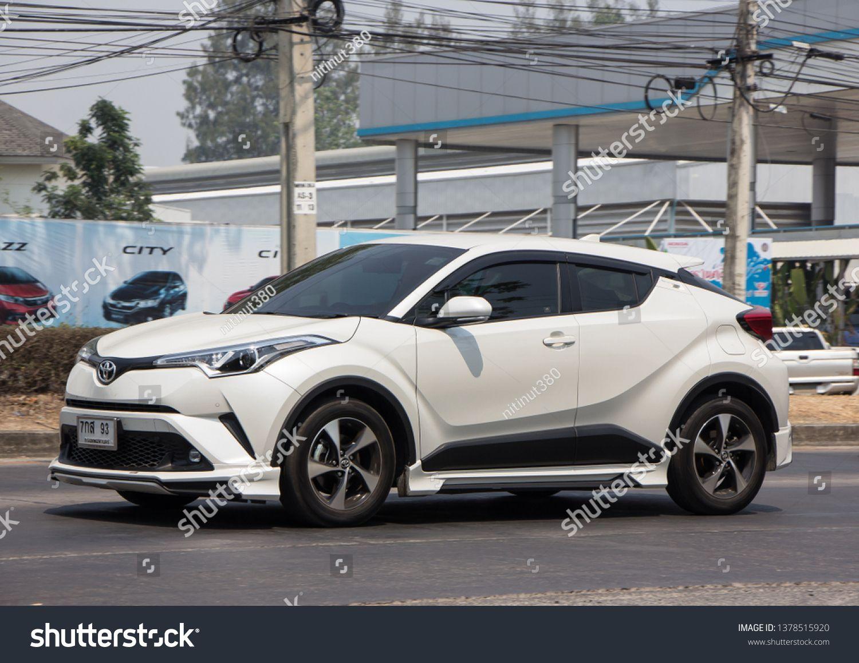 Chiangmai Thailand April 9 2019 New Toyota Chr Subcompact