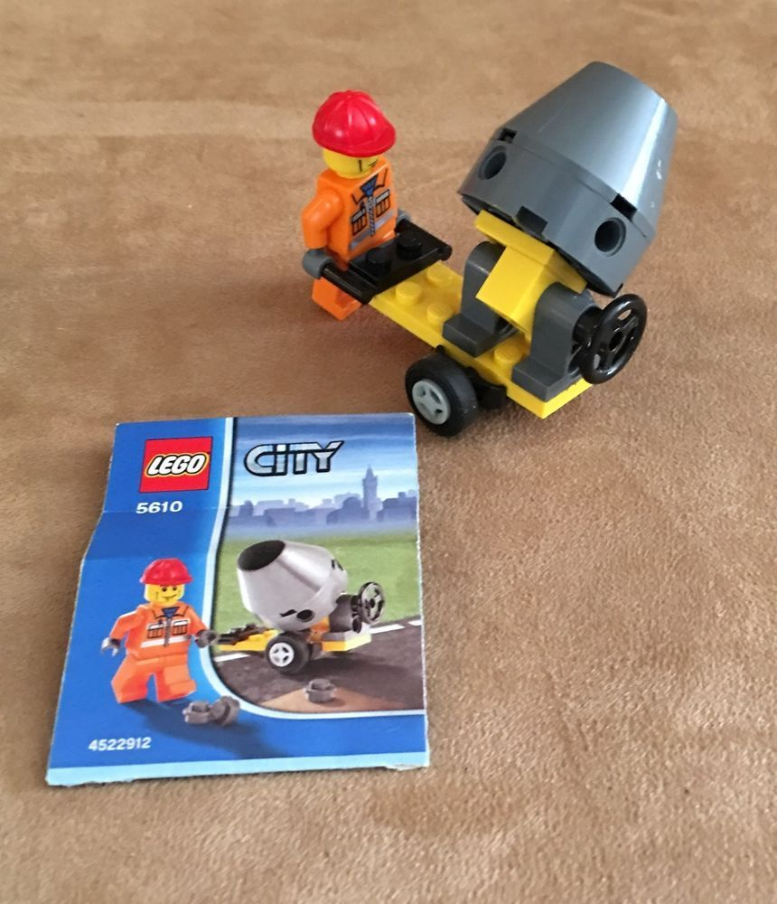 *BRAND NEW* LEGO City Construction Builder CEMENT MIXER 5610