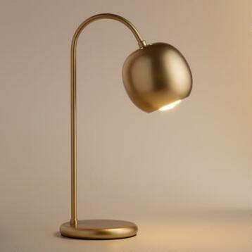 Antique Gold Scoop Desk Lamp Cost