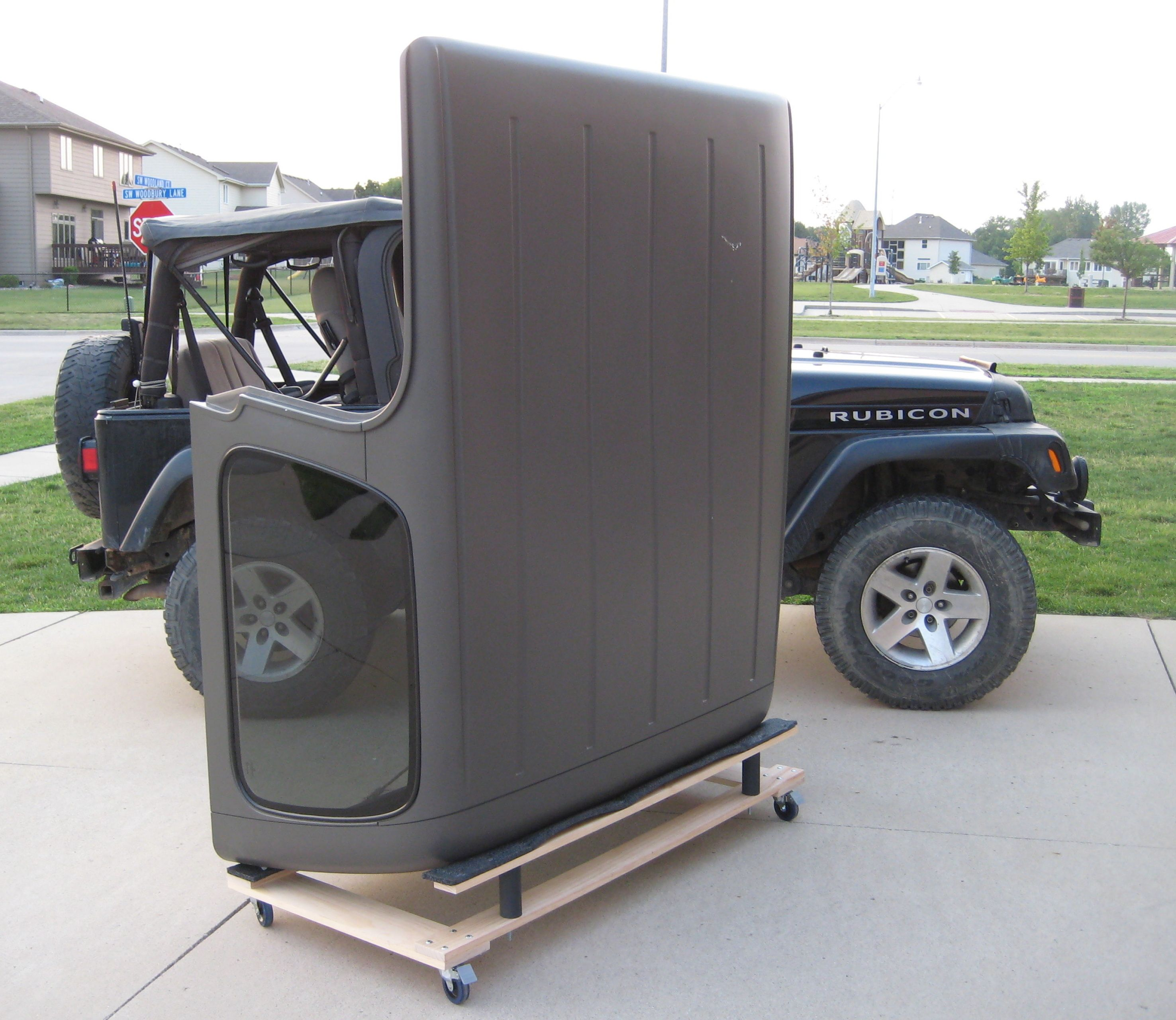 This Cart Is Compatible With All Years Of Yj Tj And Lj