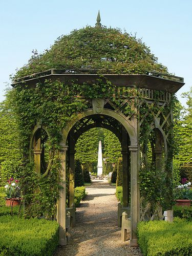 Gazebo Beautiful Gardens Victorian Gardens Dream Garden