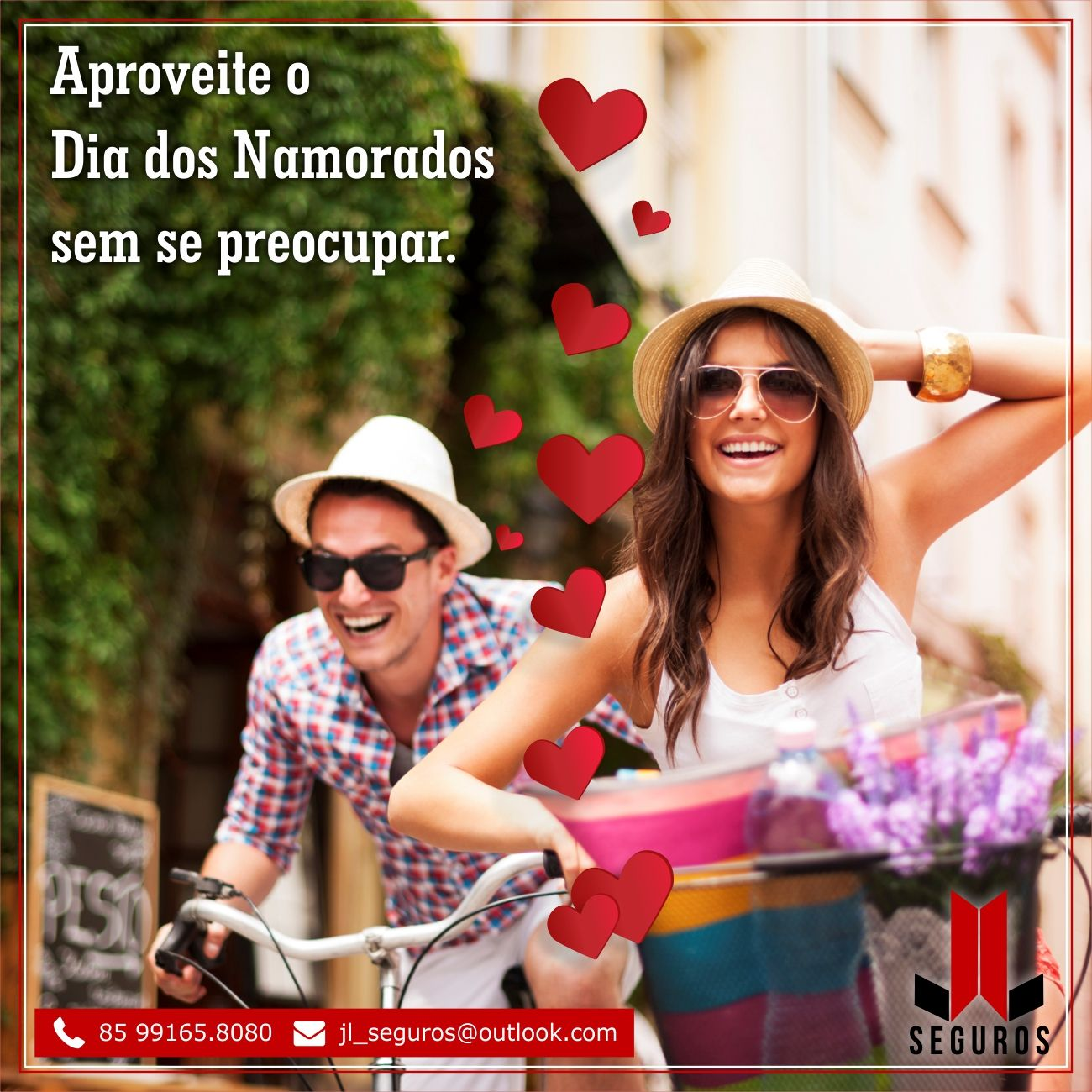 JL Seguros | Anúncio Instagram - Dia dos Namorados
