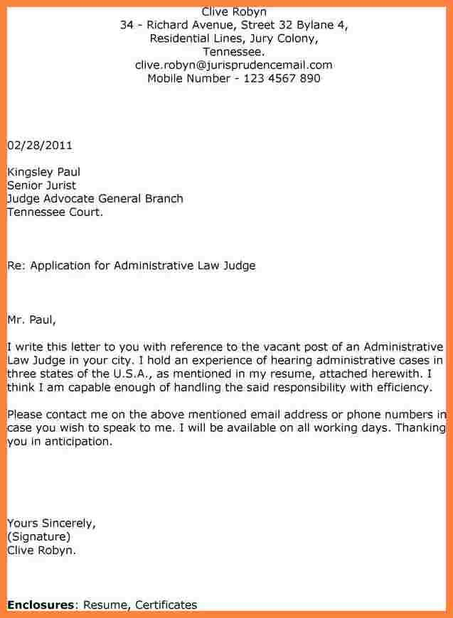 Application Letters For Employment Mple Cover Letter Job Sample