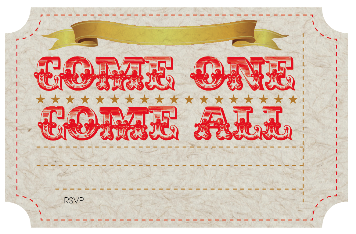 Free Printable Circus Party Invites Nooshloves My