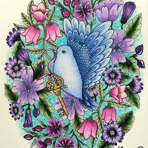 Que Fofura Find This Pin And More On Maria Trolle By Morganarmst5141 Inspirational Coloring Pages