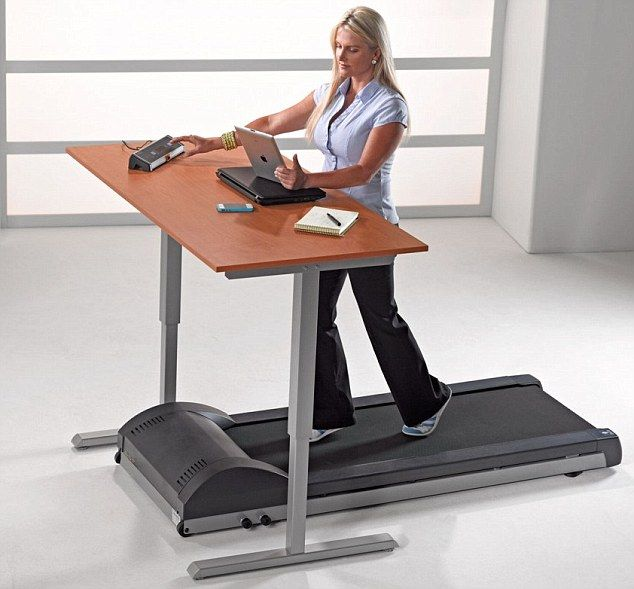 Run Your Career From A Desk Treadmill Our Sedentary Lives Are Making Us Ill So Copy Google And Invest In A Walking Workstation Treadmill Desk Standing Desk Treadmill Adjustable Standing Desk