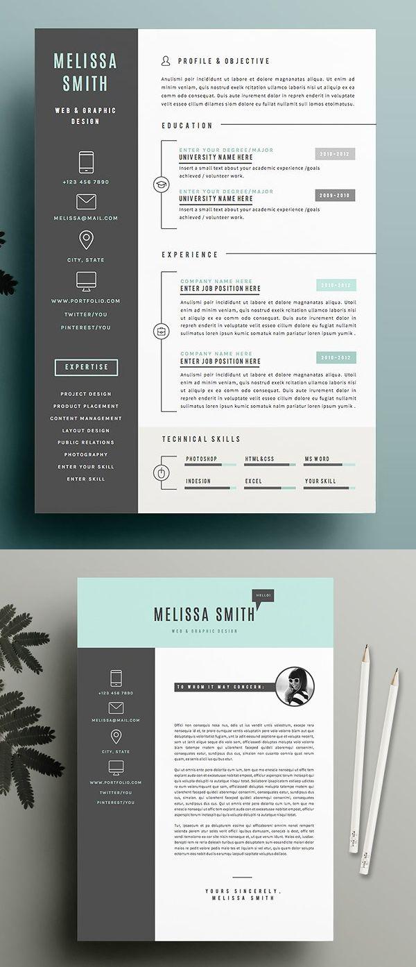 New Simple Clean Cv Resume Templates Design Graphic Design Junction Infographic Resume Resume Template Graphic Design Resume