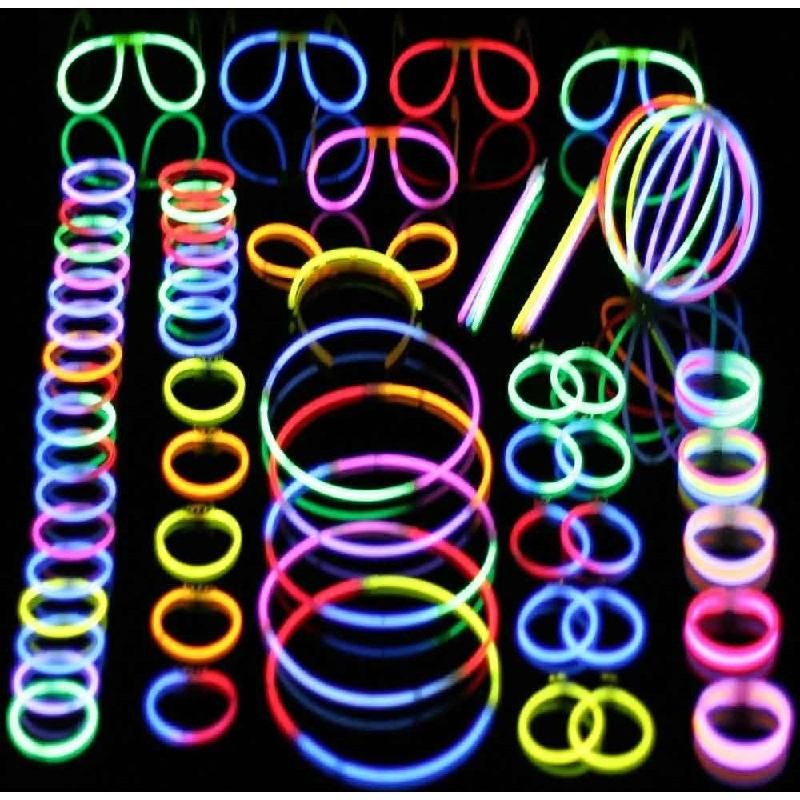 Glow Sticks Bracelets Necklaces Etc To Wear During Party And