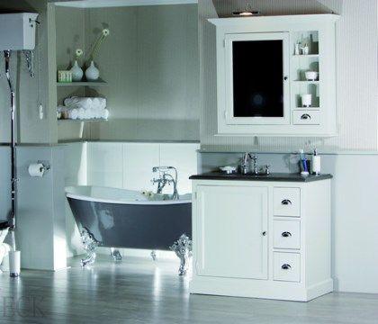 landelijke badkamers met inloopdouche - Google zoeken | Inrichting ...