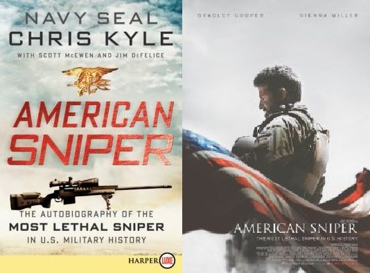American Sniper by Chris Kyle a 2015 Best Picture Nominees for the 2015 Oscars