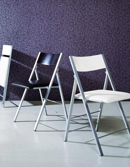 Ultra Compact This Razor Thin Folding Chair Oozes Style While Still  Providing A Cushioned Soft And