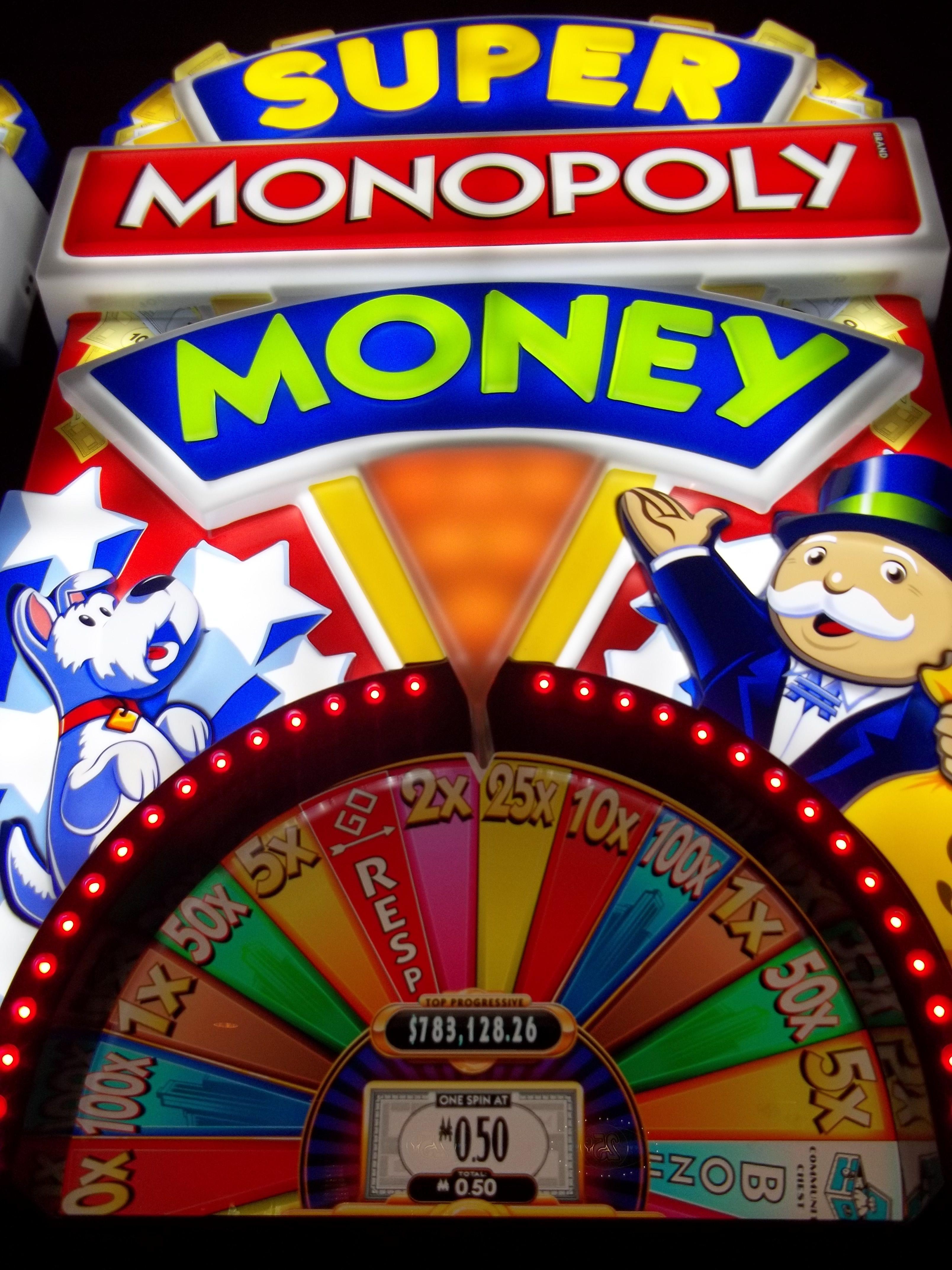 Monopoly On The Money Slot Machine