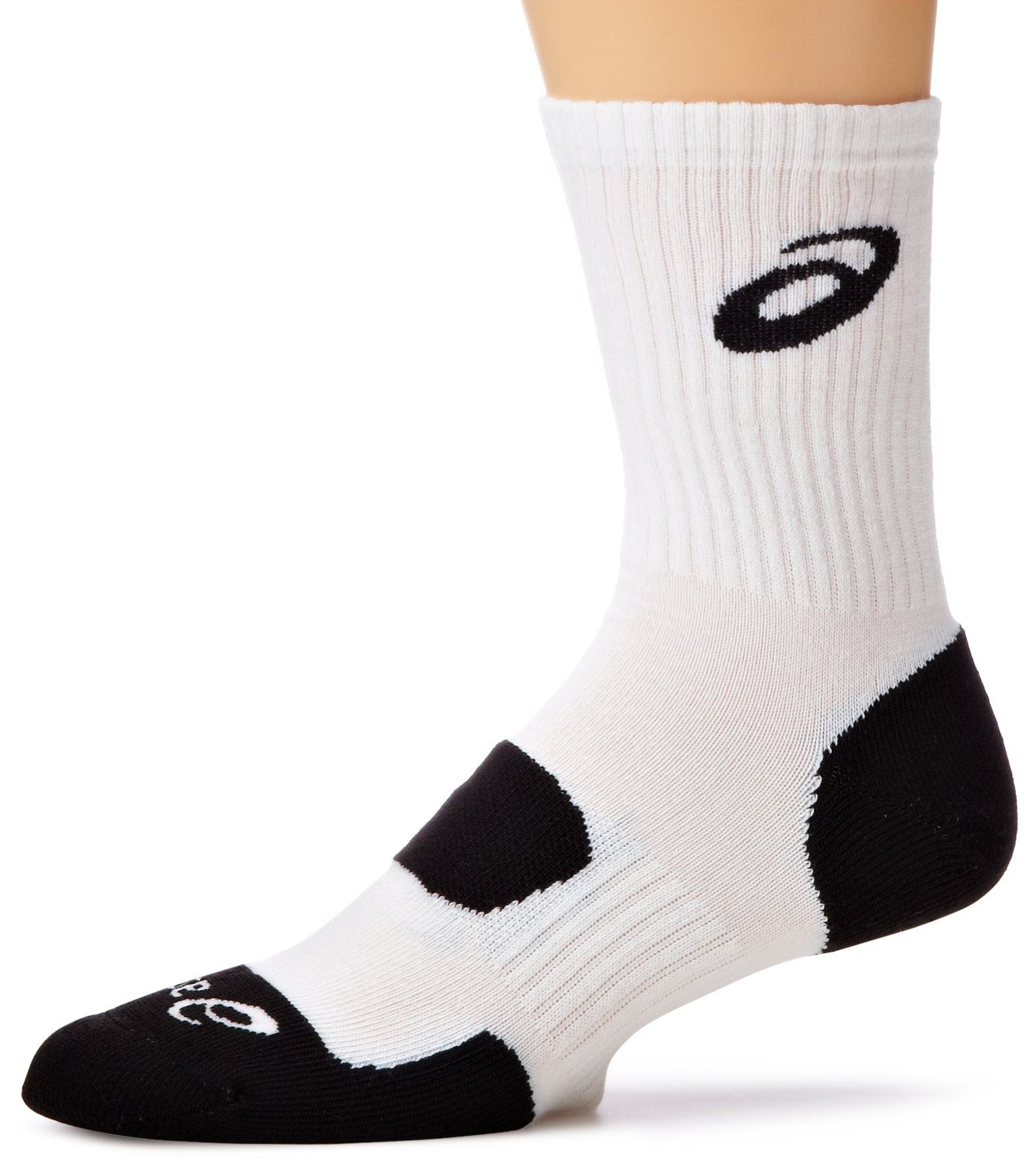 Adaptación Herméticamente Negar  ASICS Team Performance Crew Sock White XLarge *** See this great ...