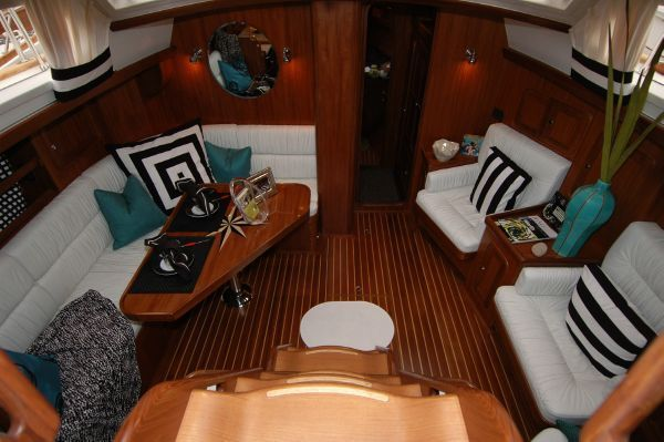 Tayana 48 Deck Saloon by Seattle Yachts
