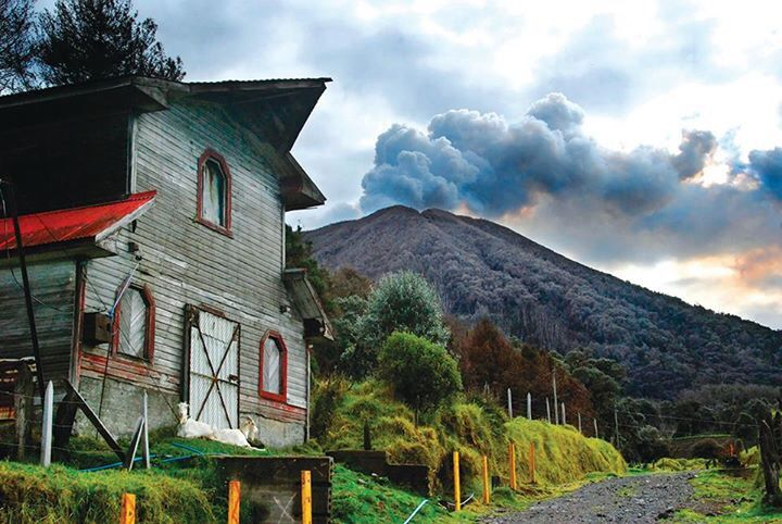 Volcán Turrialba! Costa Rica!